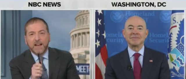 'how-can-you-say-the-border-is-closed'?:-msnbc's-chuck-todd-presses-biden-dhs-secretary-on-migrant-crisis