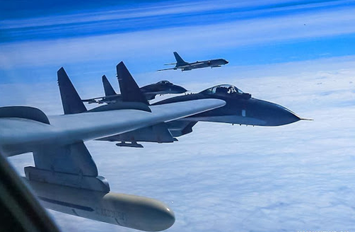 """chinese-bombers-make-""""largest-ever""""-incursion-into-taiwan's-air-space-in-dramatic-'message-to-west'"""