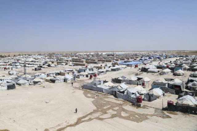 """the-body-of-a-child-was-found-dead-in-""""al-hol""""-camp-in-the-countryside-of-al-hasakah."""