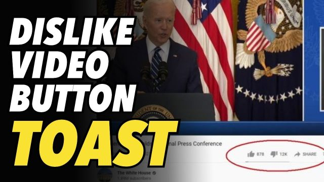 youtube-flirts-with-removing-dislike-button,-much-to-the-liking-of-biden-white-house