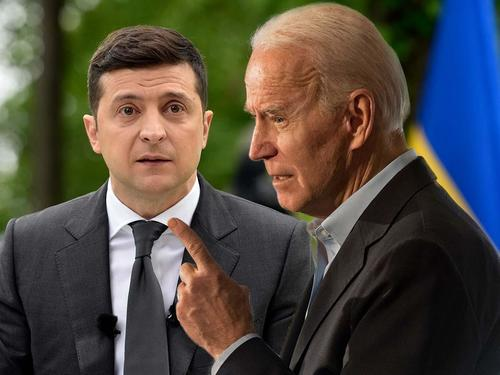 "biden-condemns-""russian-aggression""-in-ukraine in-first belated-call-with-president-zelensky"