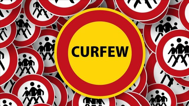 the-sdf-announces-a-complete-and-partial-curfew-in-the-areas-under-its-control.