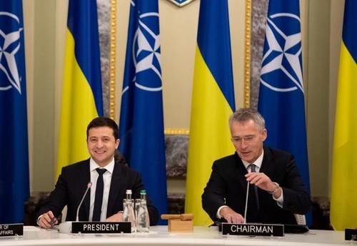 """ukraine's-zelensky:-""""nato-membershipis-the-only-way-to-end-war-in-donbass"""""""