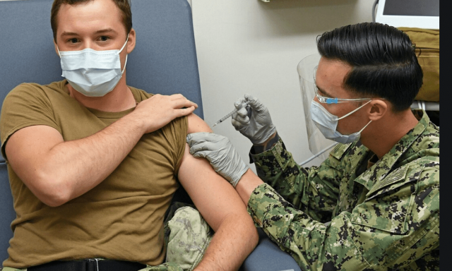 nearly-40%-of-marines-have-rejected-coronavirus-vaccine-as-dems-call-on-biden-admin-to-make-shots-mandatory-for-troops-–-reports