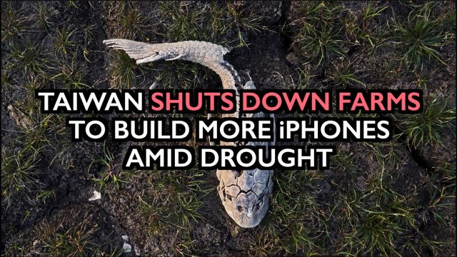 taiwan-shuts-down-farms-to-build-more-iphones-–-destruction-of-food-supply