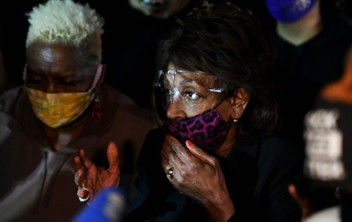maxine-waters-leaps-into-victim-mode-after-inciting-mob;-may-become-witness-in-her-own-lawsuit