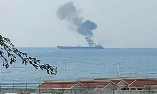 iran's-military-blames-israel-for-drone-attack-on-oil-tanker-off-syria,-vows-revenge