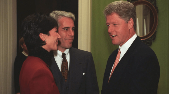 new-photos-show-epstein-and-maxwell-were-vip-guests-in-clinton's-white-house