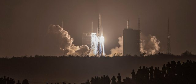 defense-secretary-says-there's-no-plan-in-place-to-shoot-down-china's-falling-rocket