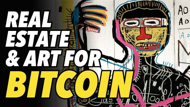 portugal-real-estate,-banksy-and-basquiat-art-for-bitcoin,-dogecoin-&-ethereum