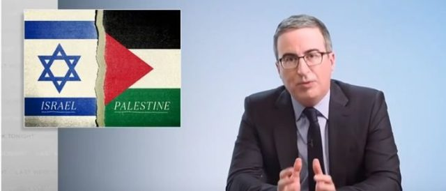 john-oliver-says-'us-is-heavily-implicated'-in-helping-israel-commit-'apartheid,'-'war-crimes'