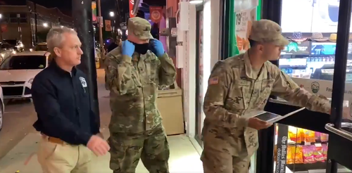 """watch:-uniformed-troops-go-to-bars-&-7-eleven-in-dallas-to-randomly-vaccinate-""""younger-crowd"""""""
