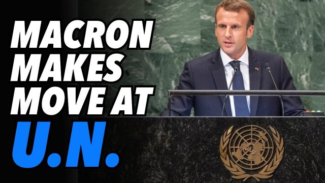 macron-uses-israel-gaza-conflict-to-gain-favour-in-france-&-world-stage
