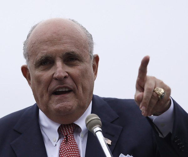 rudy-giuliani-to-newsmax:-'projection'-has-dems-targeting-trump,-lawyers