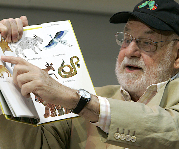 'the-very-hungry-caterpillar'-author-eric-carle-dies-at-91