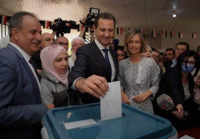 syrians-reject-the-us-'regime-change'-and-re-elect-president-assad
