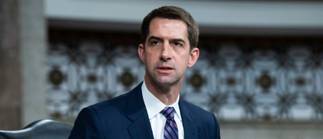 sen.-tom-cotton-demands-to-know-whether-taxpayer-money-was-used-for-defense-contractor's-alleged-white-privilege-training