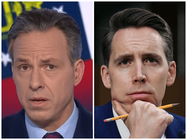 emails-show-jake-tapper-tried-booking-josh-hawley-18-times-on-show-despite-claims-he-was-banned-over-january-6