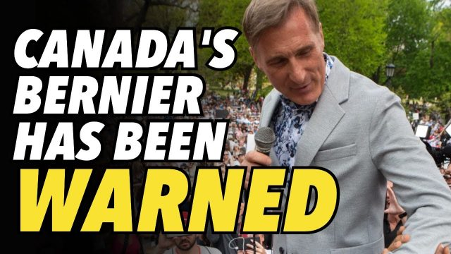 canada's-bernier-warned-not-to-campaign.-faces-$100,000-fine-&-more-jail-time