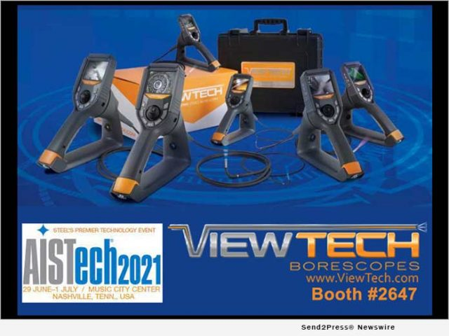 news:-viewtech-borescopes-exhibiting-at-aistech-june-29-–-july-1-at-booth-2647-|-citizenwire
