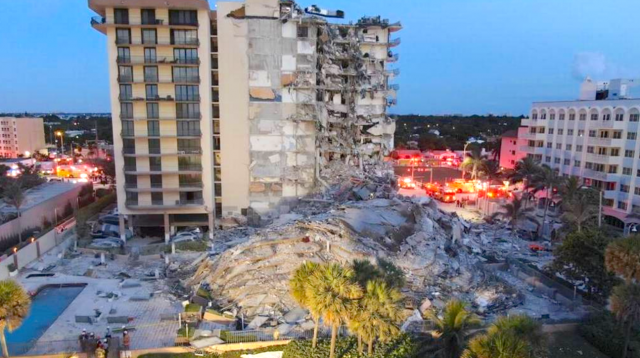 watch-–-condo-collapse-in-surfside,-miami-beach,-kills-at-least-one;-search-and-rescue-combing-through-rubble