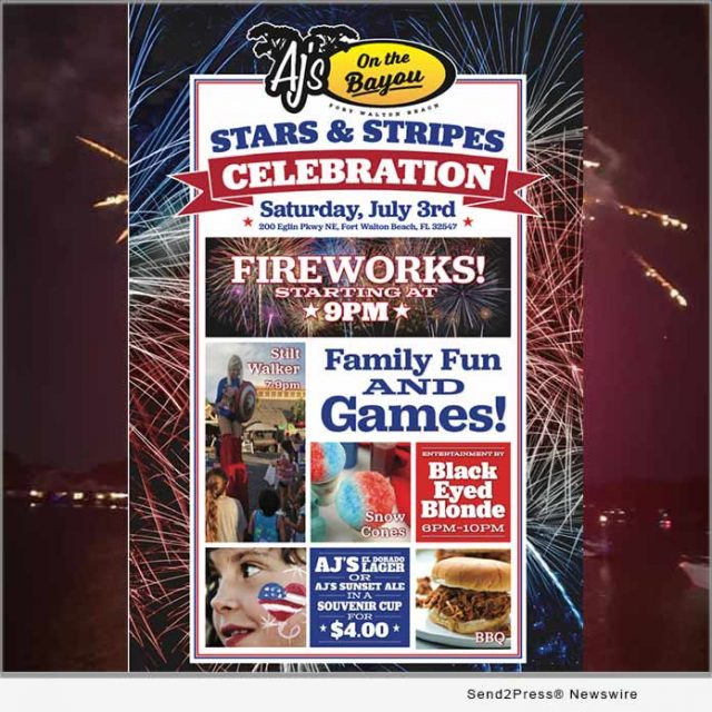 news:-aj's-on-the-bayou-to-host-free-firework-show-at-stars-and-stripes-celebration-|-citizenwire