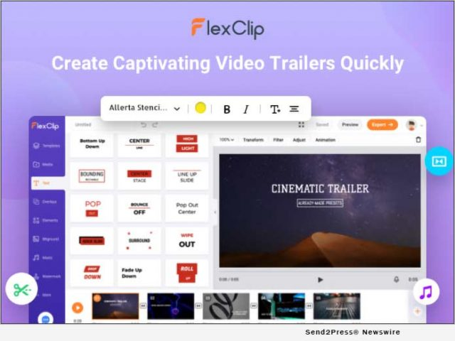 news:-flexclip-online-trailer-maker-is-a-one-stop-solution-for-captivating-video-trailers-|-citizenwire