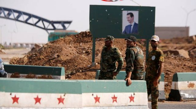 a-syrian-jordanian-agreement-to-resolve-the-truck-crisis-stuck-on-the-border-between-the-two-countries.