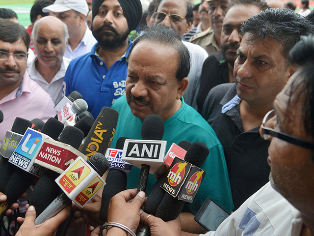 indian-health-minister-resigns-amid-alleged-cabinet-reshuffle