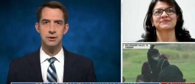 sen-tom-cotton-goes-off-on-rep.-rashida-tlaib-for-saying-we-must-eliminate-funding-for-cbp,-ice,-dhs