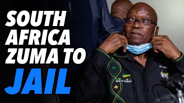 south-africa-former-president-zuma,-15-months-in-jail