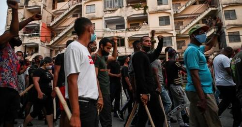 media-frets-about-cuban-protesters-spreading-covid-19
