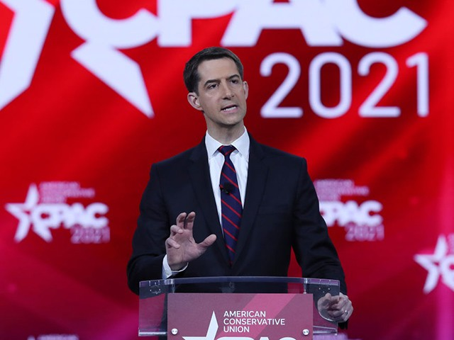 exclusive:-tom-cotton-plan-siphons-$50b-from-biden-spending-package-to-fund-more-police