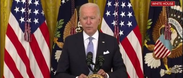 'where-we-have-a-high-vaccination-rate,-people-don't-have-to-wear-a-mask':-biden-contradicts-cdc-mask-guidelines