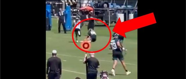 tim-tebow-makes-awesome-touchdown-catch-in-practice-on-a-throw-from-trevor-lawrence
